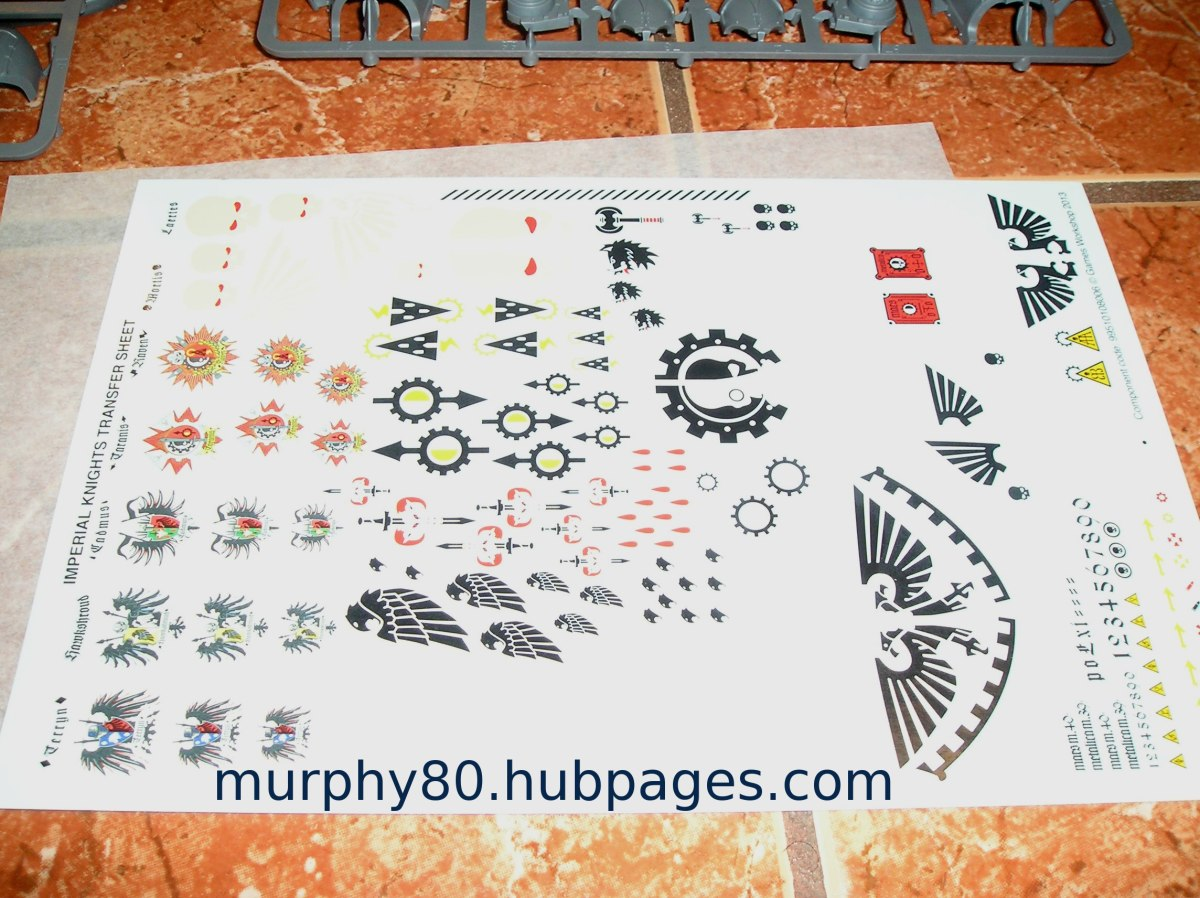 Imperial Knight Decals