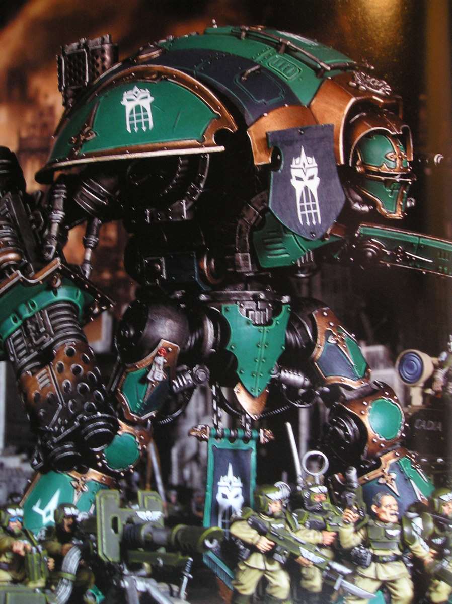 Imperial Knight Houses Warhammer 40k