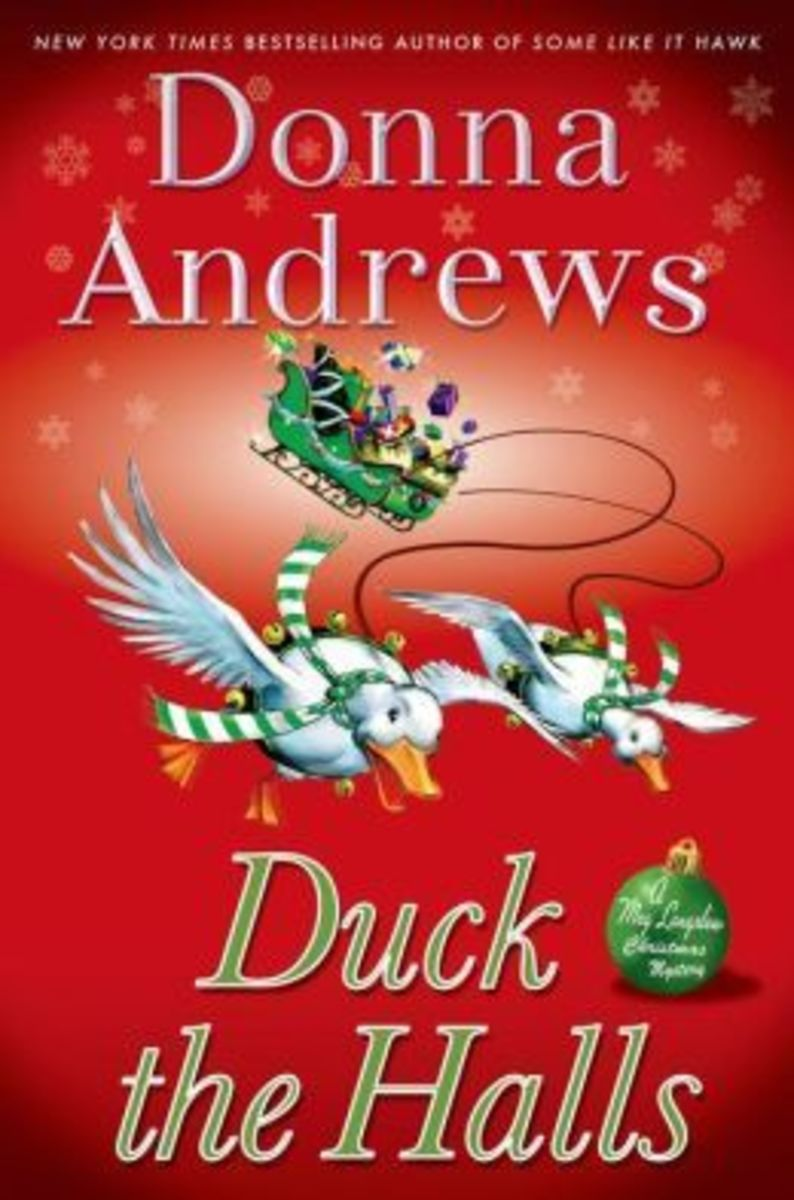 Duck the Halls by Donna Andrews Book 16 in the Meg Langslow Series