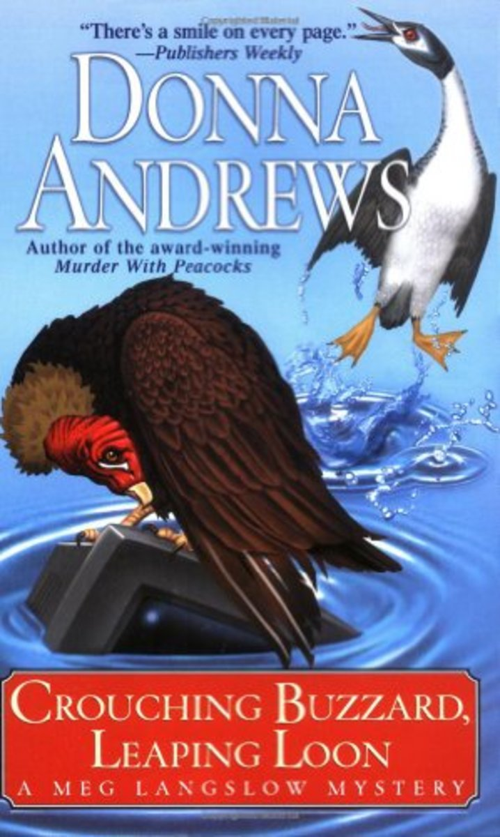 Crouching Buzzard, Leaping Loon by Donna Andrews Book 4 in the Meg Langslow Series