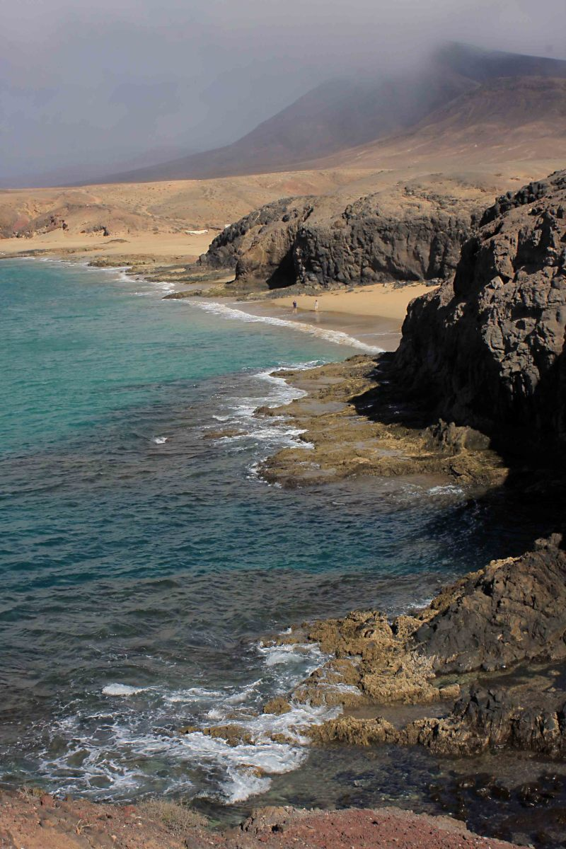 The sea and the landscape of Papapagyo, and just two of the Papagayo Beaches