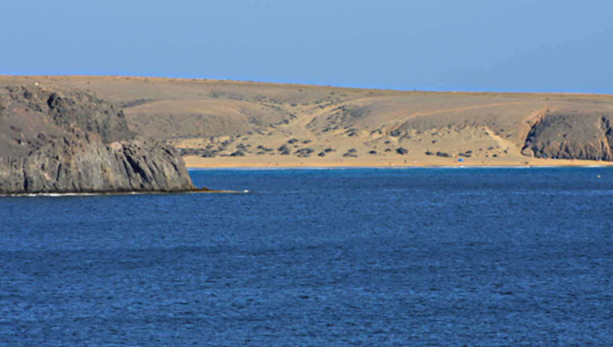 The view from Playa Blanca to the first of the Papagayo beaches - Playa Mujeres