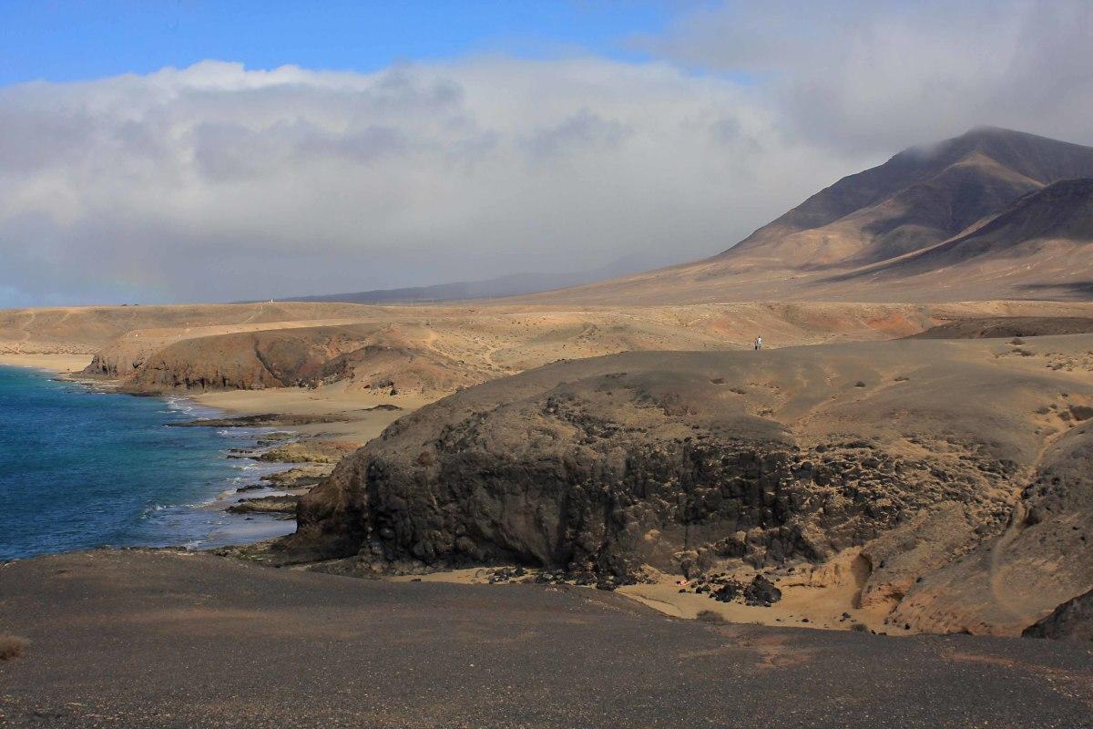 Playa Mujeres, Playa del Pozo and Playa de la Cera - and a stunning backdrop