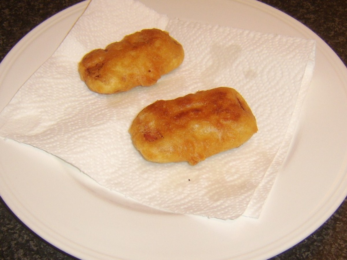 Draining Spam fritters