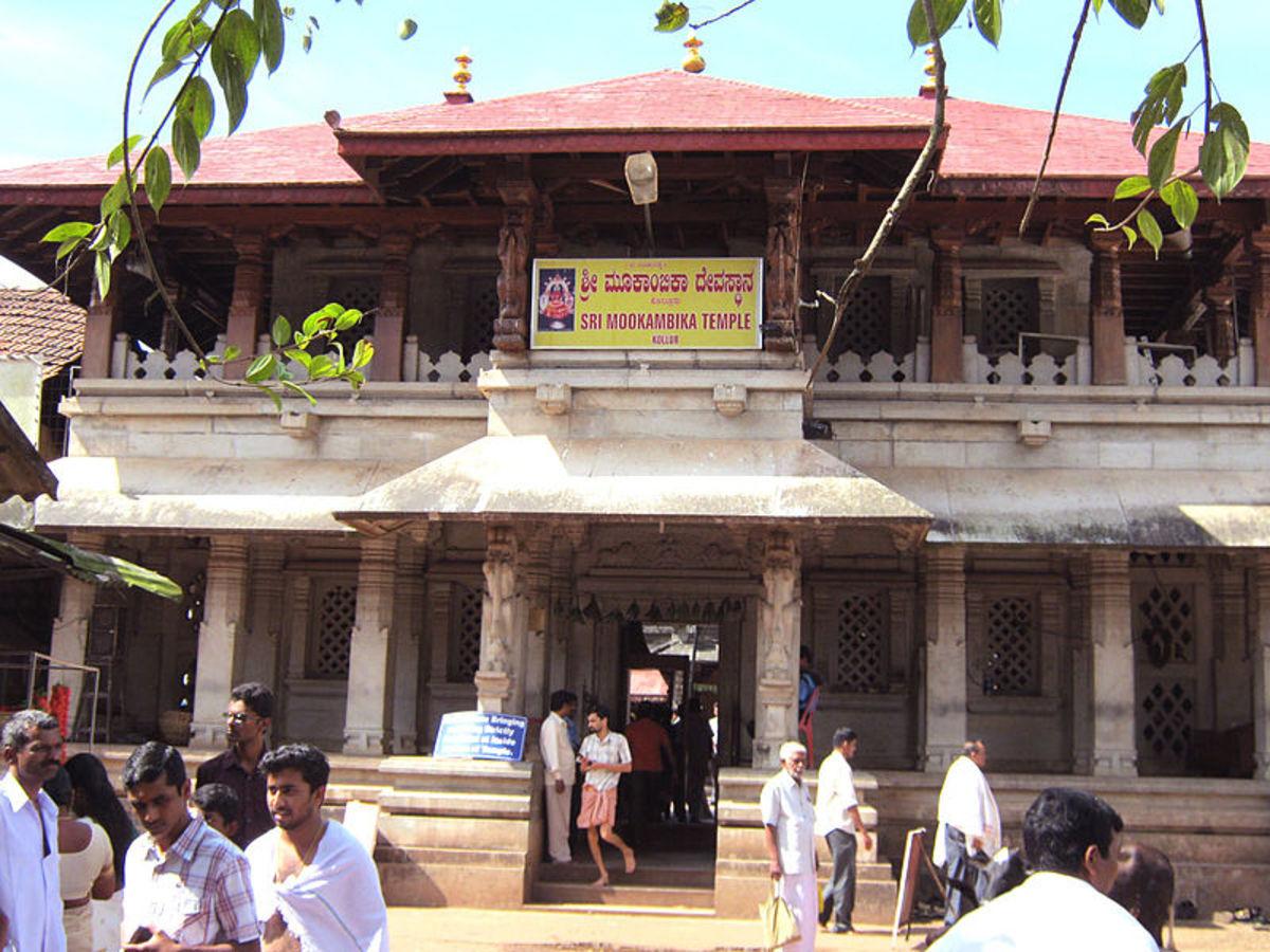 Shri Kollur Mookambika Temple, Karnataka (Author : Rojy Pala)