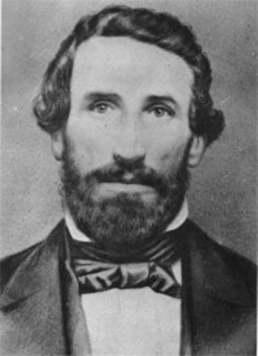 William Ormsby was killed in the Pyramid Lake War in 1860.
