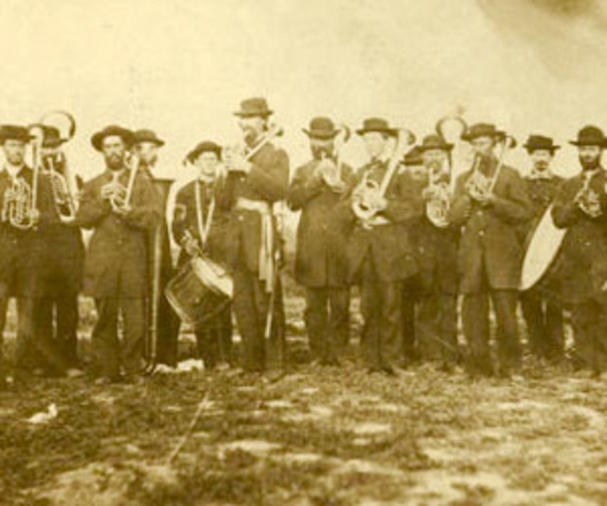 The Brass Band of the 2nd WI Volunteers