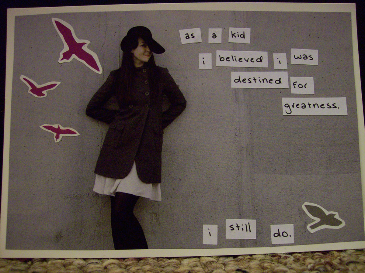 This photo was used as a submission to PostSecret.