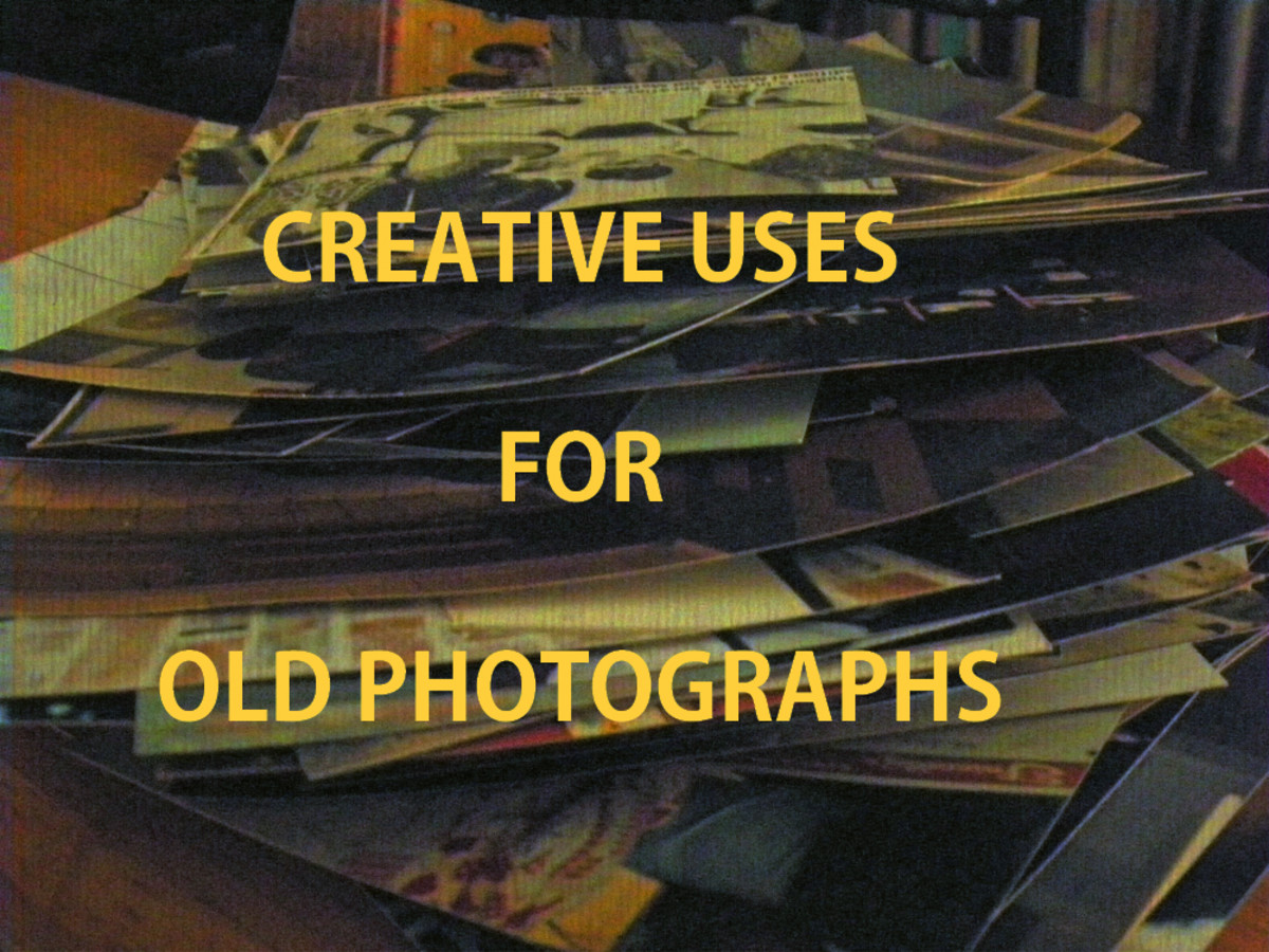 Tons of ideas for using those treasured and not-so-good pictures that you can't bear to throw out.