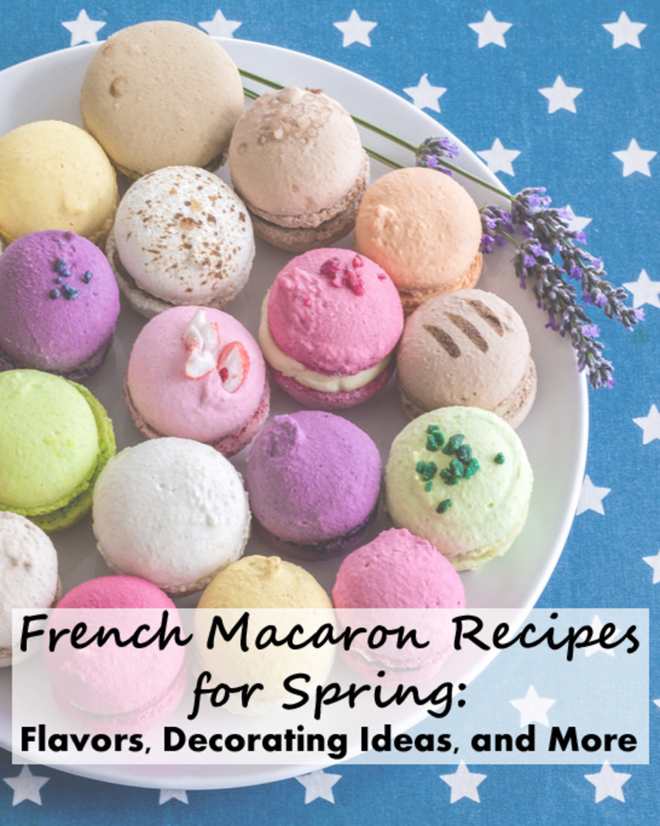 French Macaron Recipes for Spring: Flavors, Decorating ...