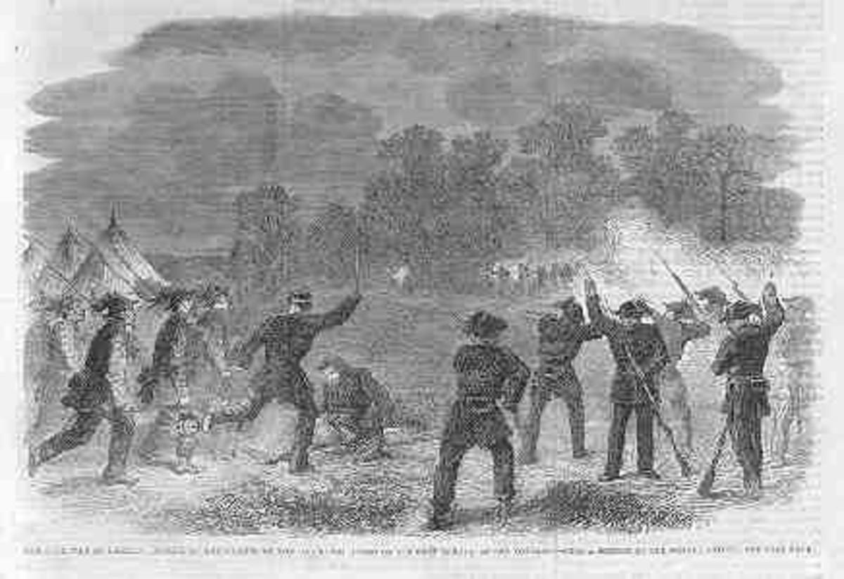 American Civil War Life: Union Infantryman - Life On Campaign 10