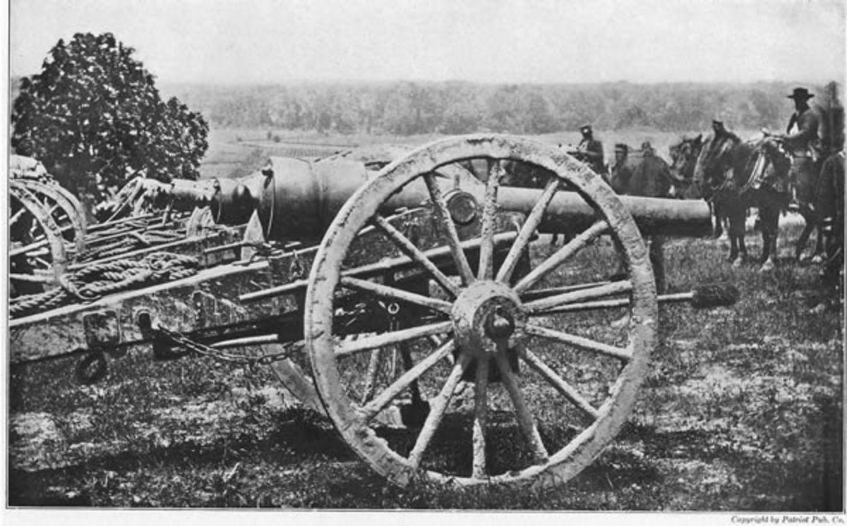 Parrott (rifled) cannon