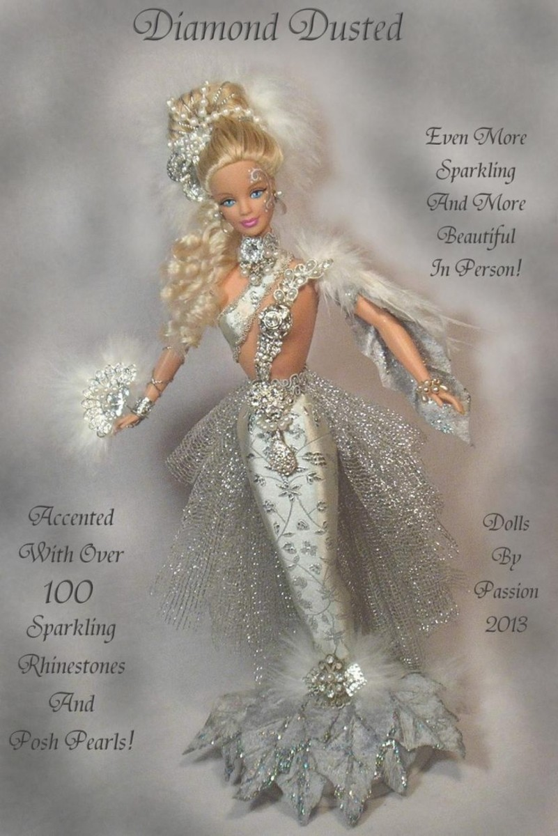 Mermaid Enchanted Fairy Collector Art Doll Altered OOAK Custom