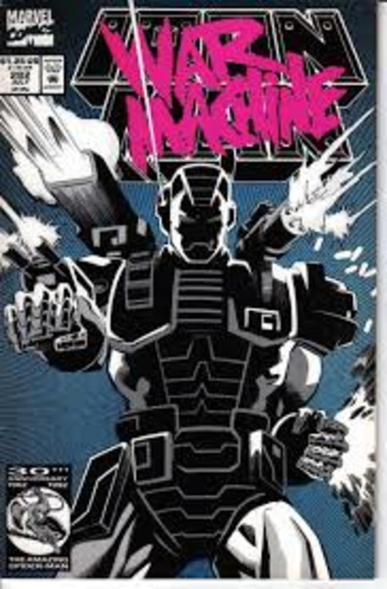 War Machine armor featured on the cover of Iron Man # 282