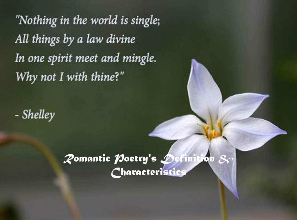 Romantic Poetry's Definition & Characteristics