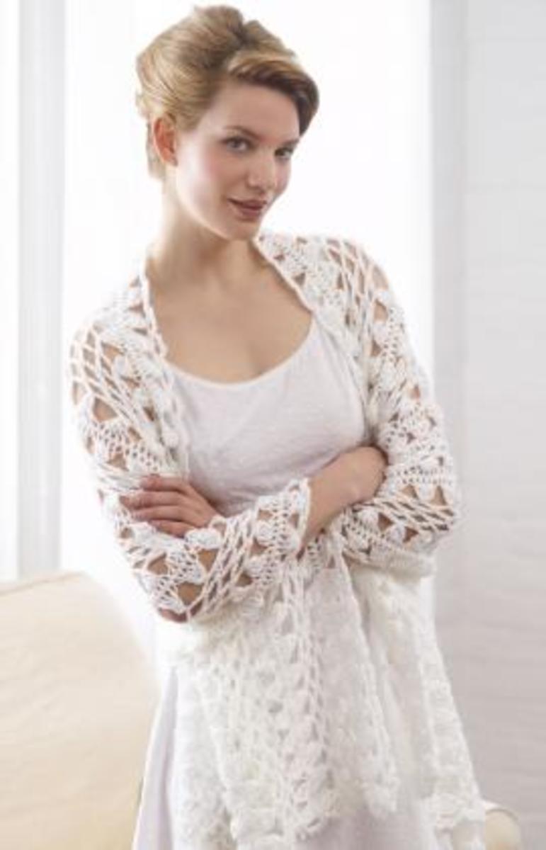 Hairpin Lace Shawl - Free Pattern