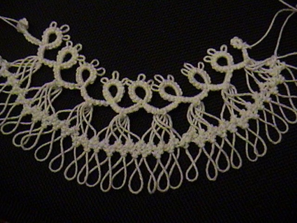 Hairpin Lace Collar