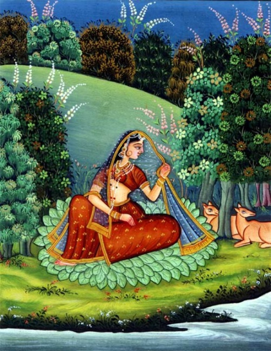 The Women in Pahari Paintings