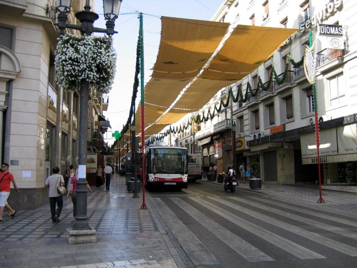 Reyes Catolicos street