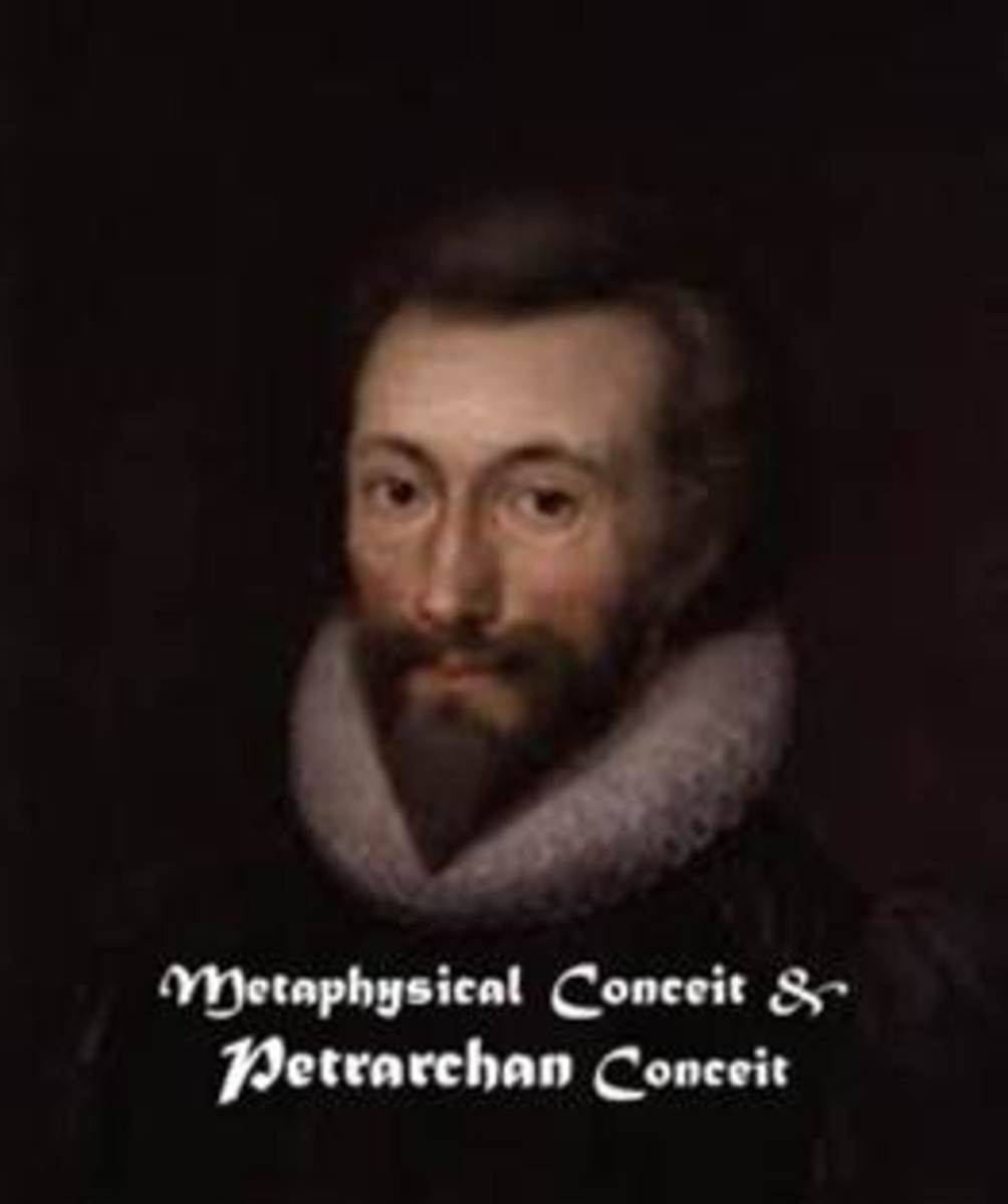 John Donne: A Metaphysical Poet, who made extensive use of metaphysical conceits in his poetry.