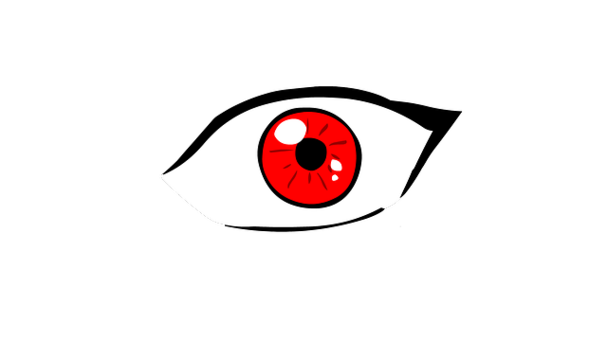 How to Fake Pink Eye Redness and discharge