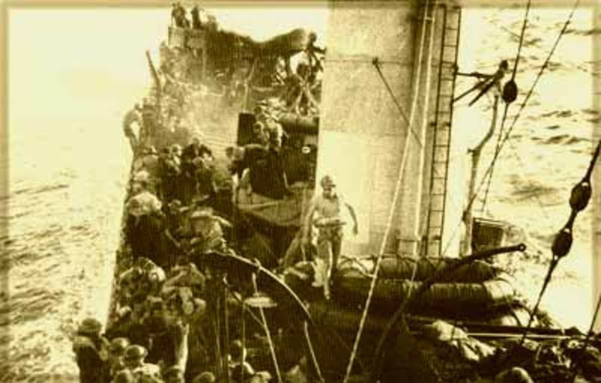 HMAS Waterhen sinking