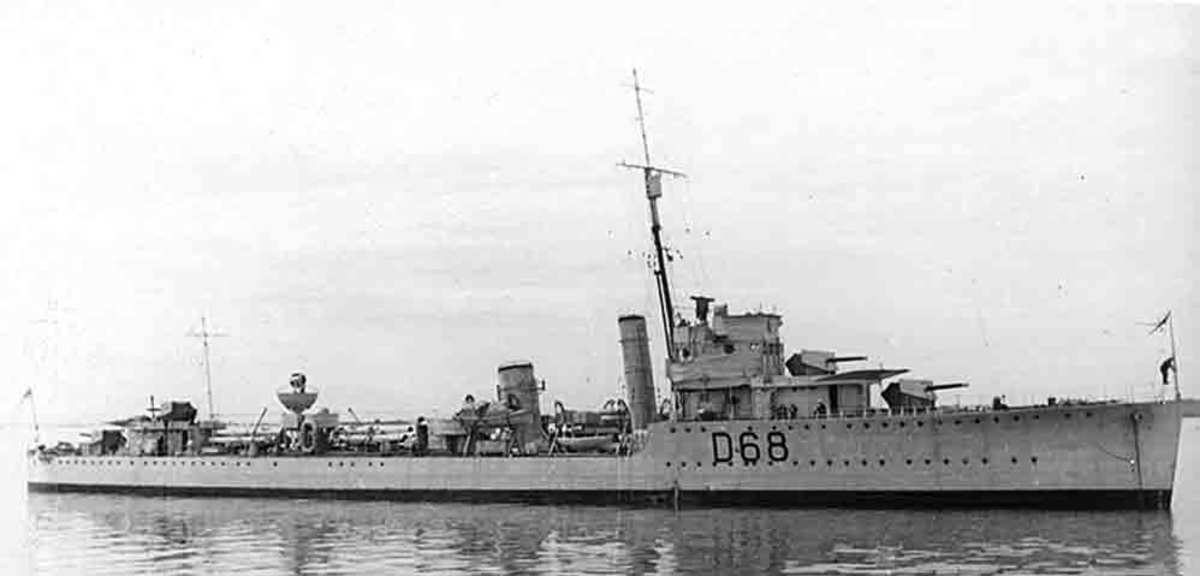 HMAS Vampire