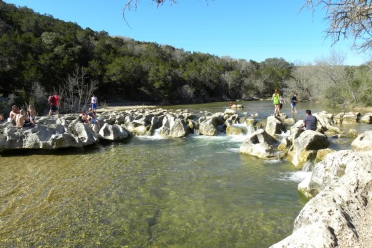 Barton Creek Greenbelt Hiking Trail Austin Tx - Twin Falls on South Mopac Austin Tx