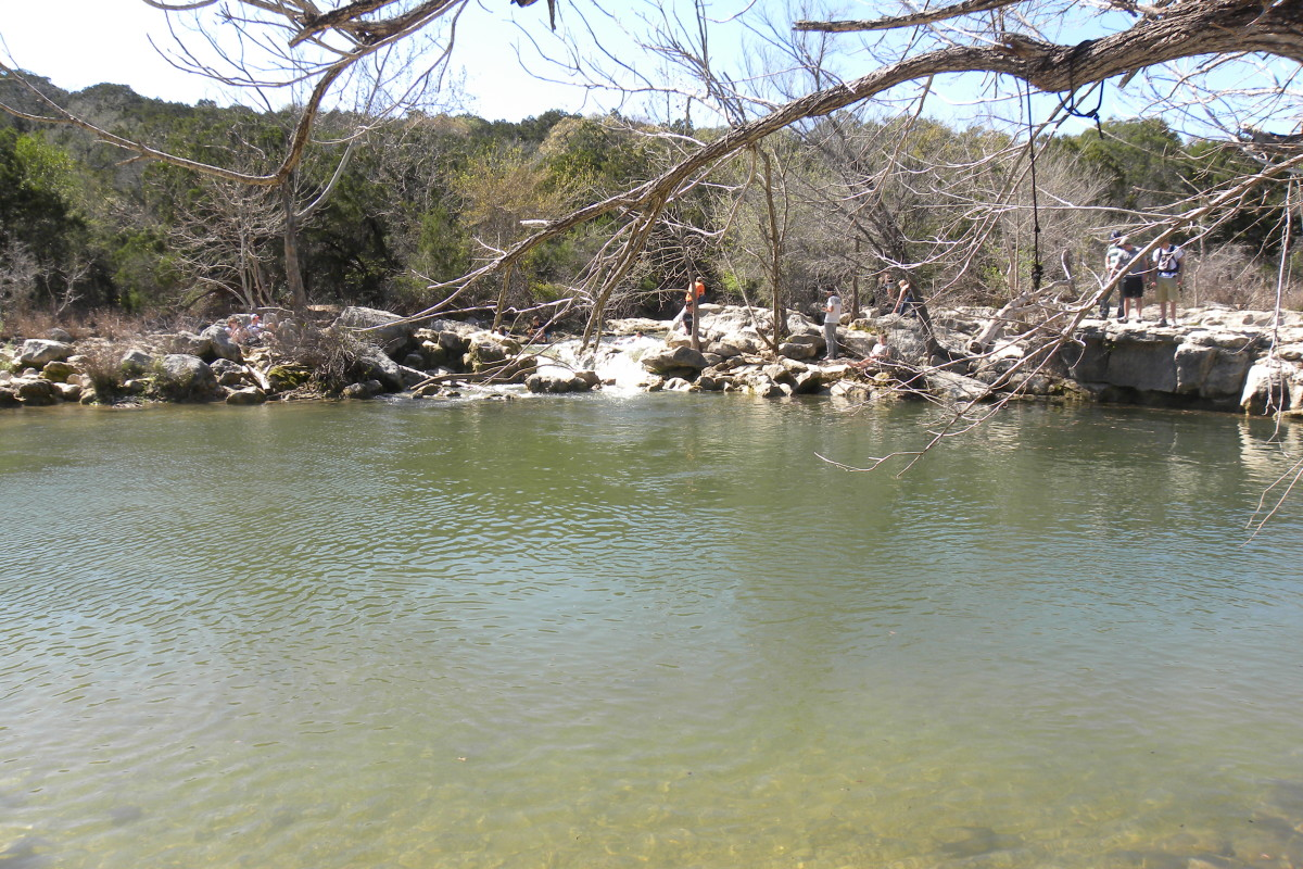 Barton Creek Swimming Hole Twin Falls Austin Texas