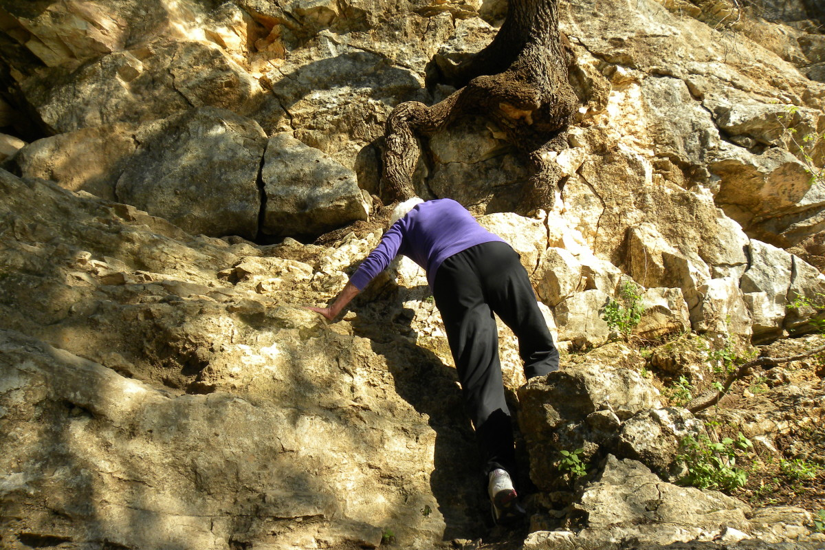 Rock Climbing at Barton Creek Trails