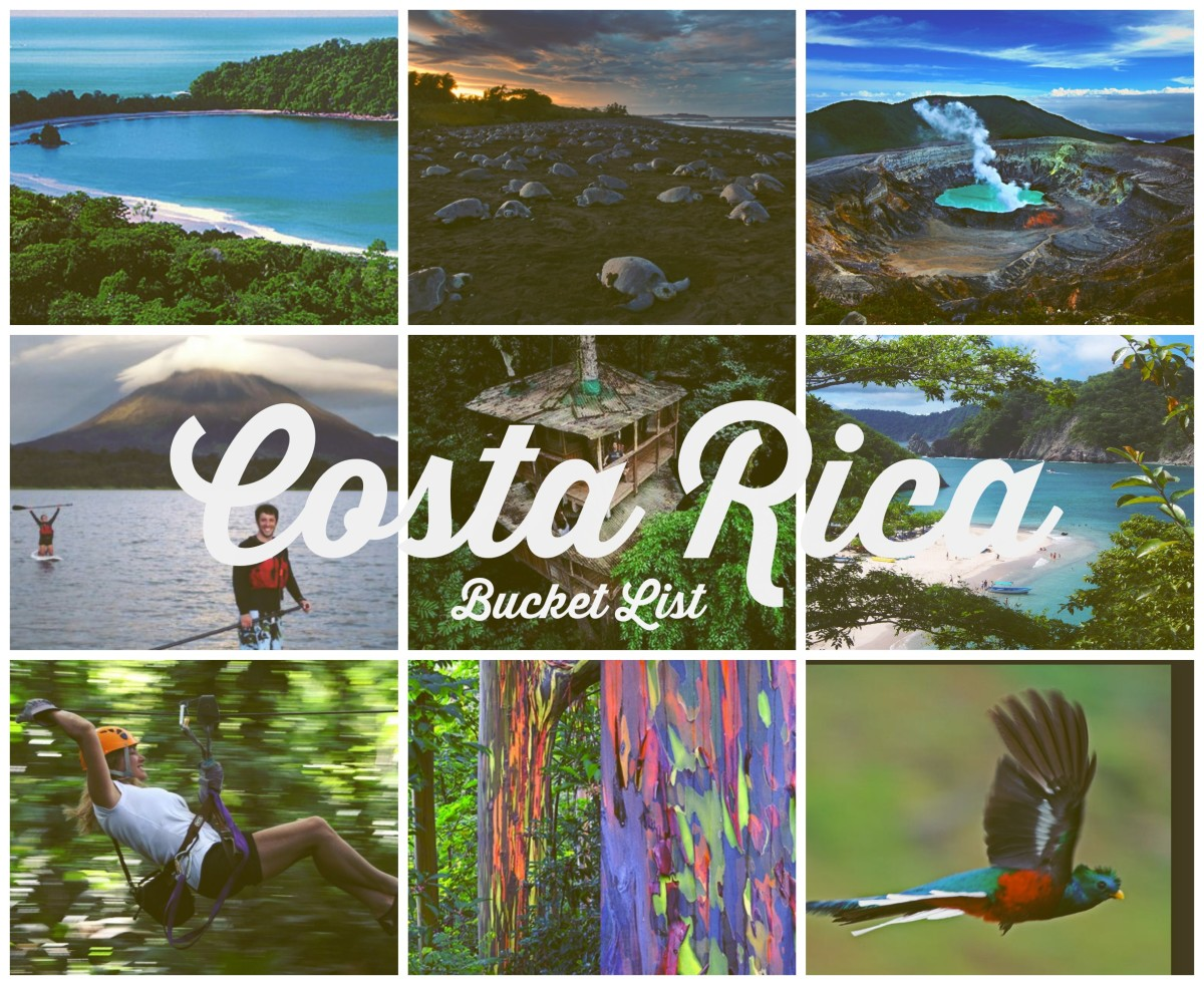 Costa Rica Bucket List