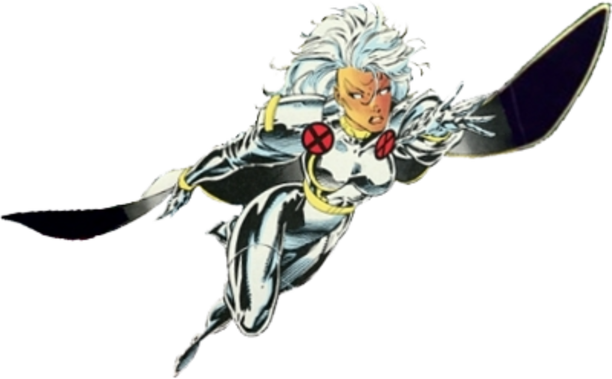 Storm is a woman of class, and she can beat you up to boot.