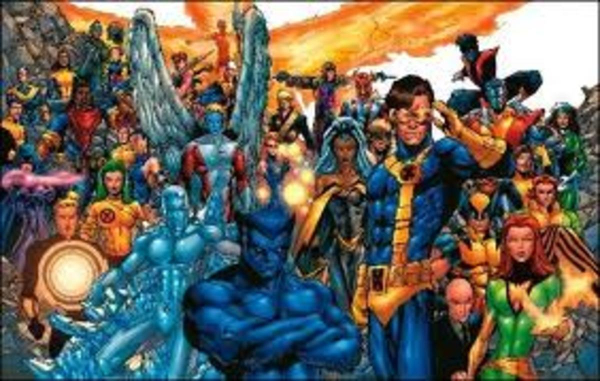 The X-Men in all their glory