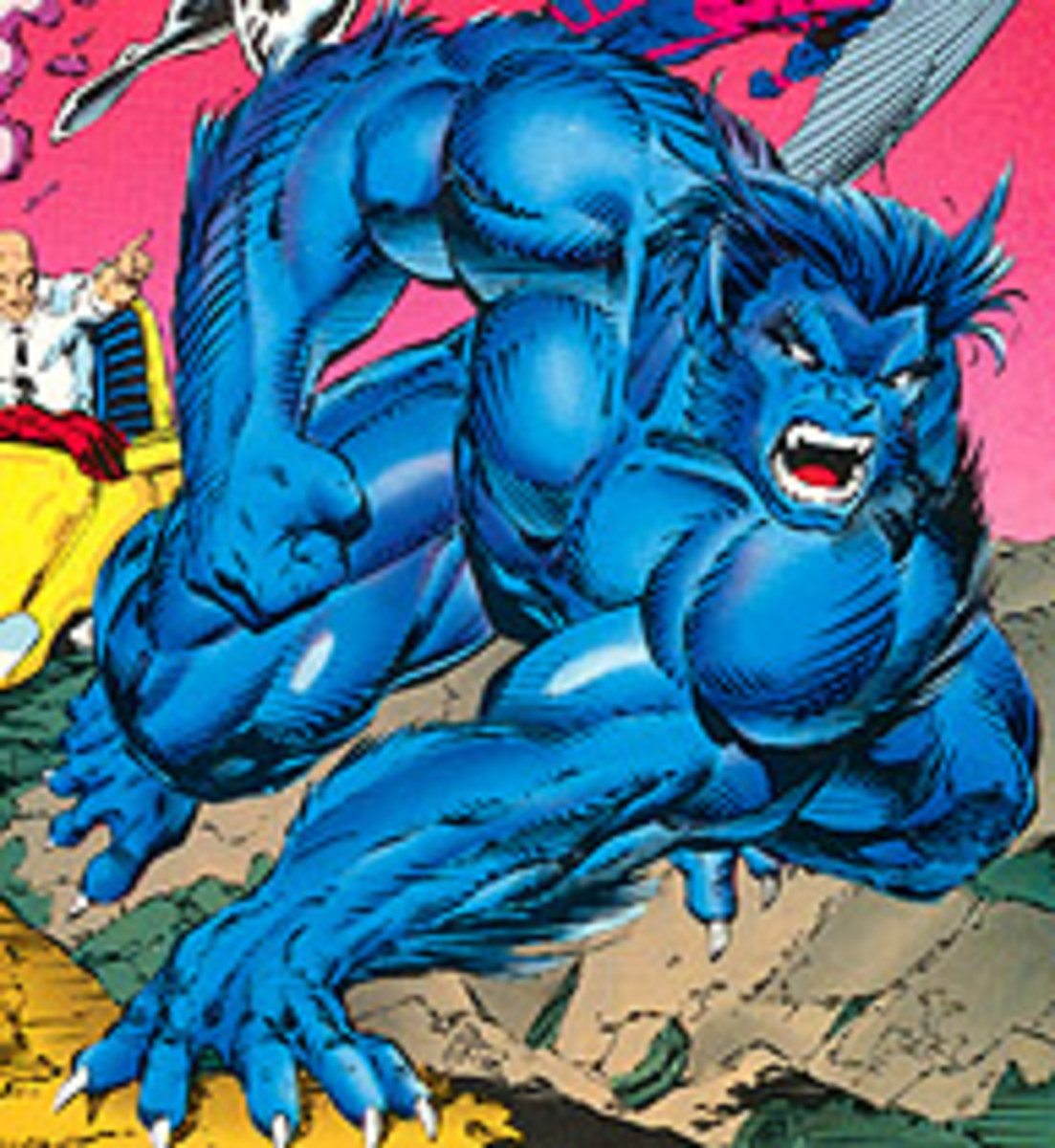 Beast from the cover of X-Men 1