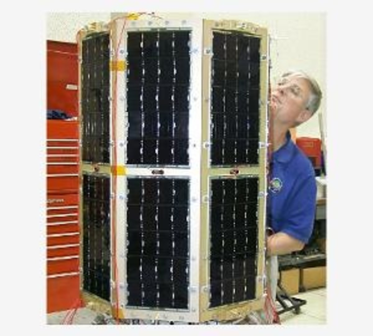 High Efficiency Gallium Arsenide Solar Cells (they cover the sides of US Naval Academy satellite MIDSTAR-1)