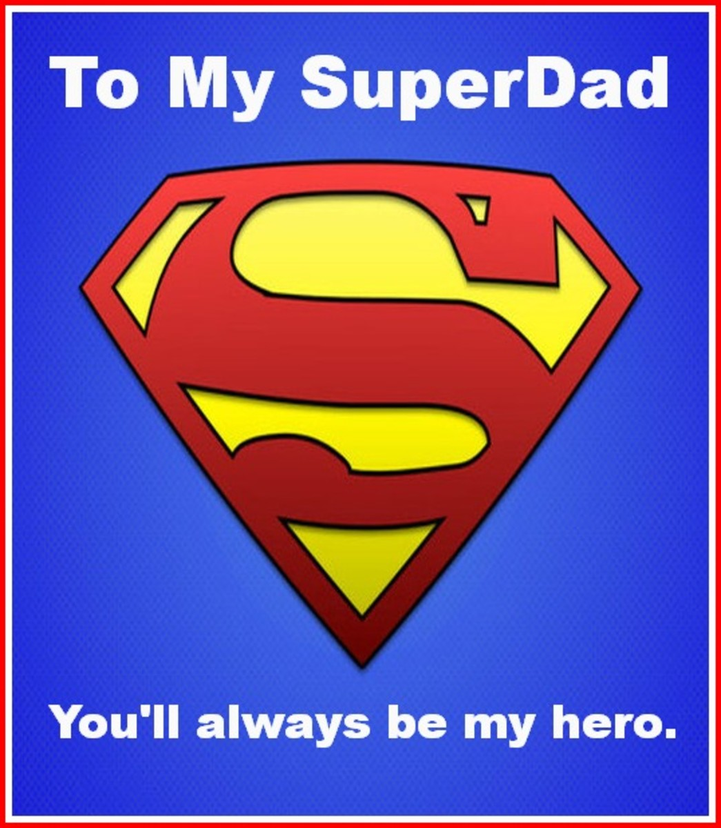Superman Dad Logo Picture
