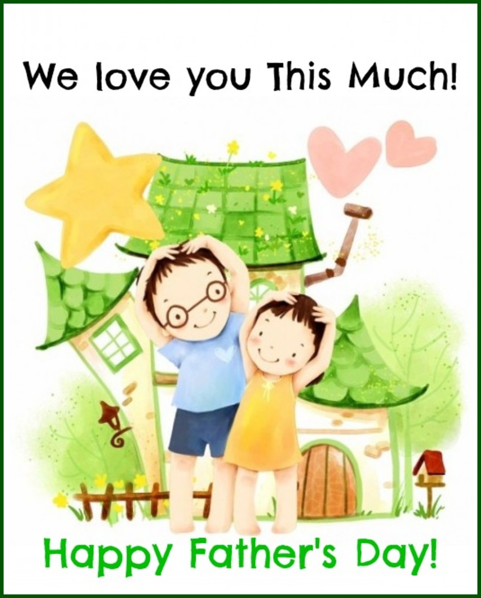 From Kids with Much Love on Father's Day