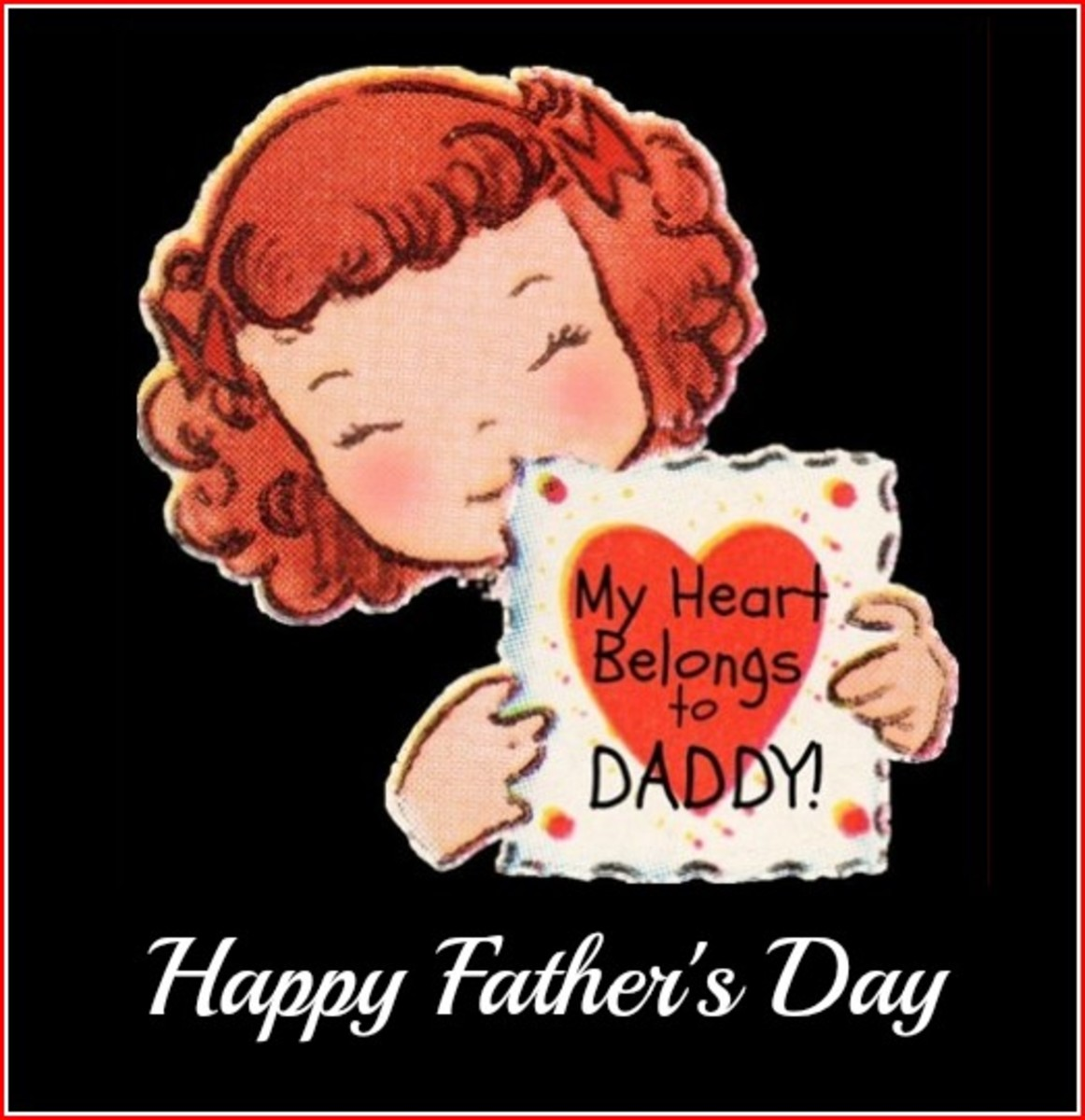 'My Heart Belongs to Daddy' and 'Happy Father's Day'