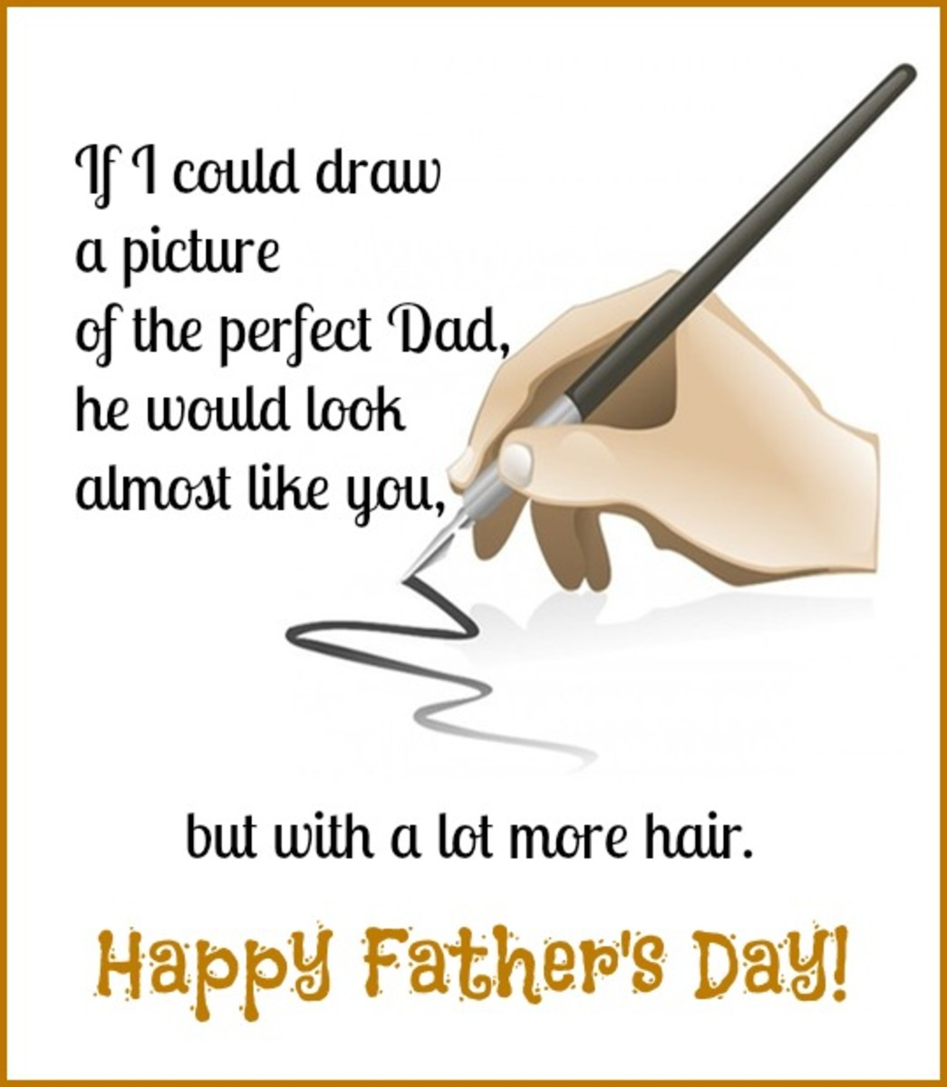 Funny Father's Day Card for Dad Who Is Losing His Hair