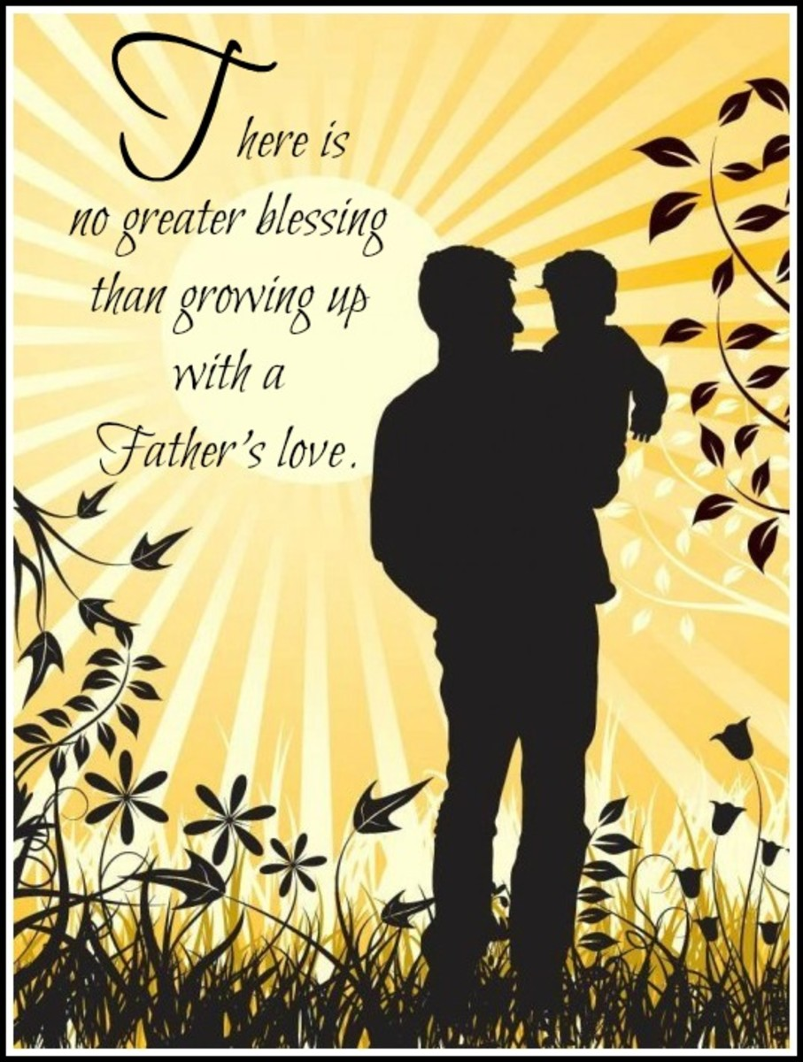Father's Day Message of Love and Blessing