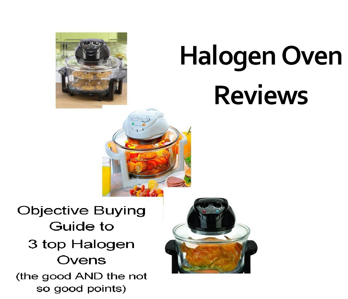Halogen Oven Review - 3 of the best