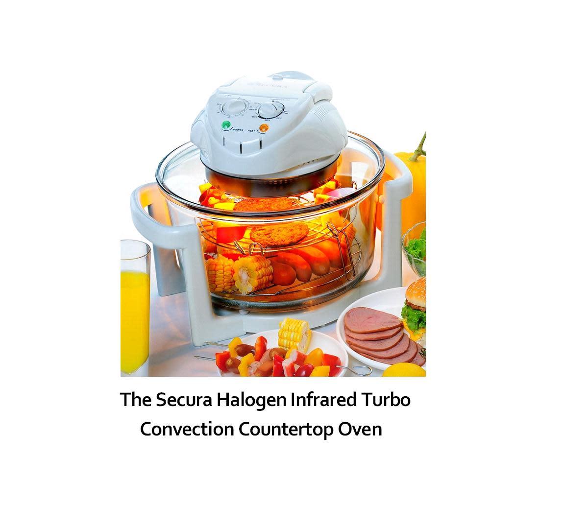 Halogen Countertop Oven Reviews : Secura Infrared Countertop Halogen Oven Review