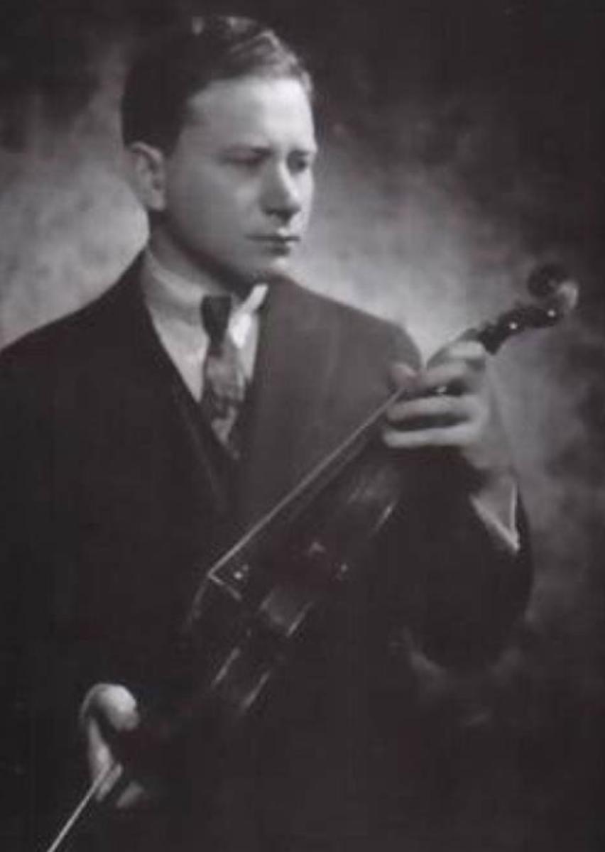Efrem Zimbalist Sr. circa 1920
