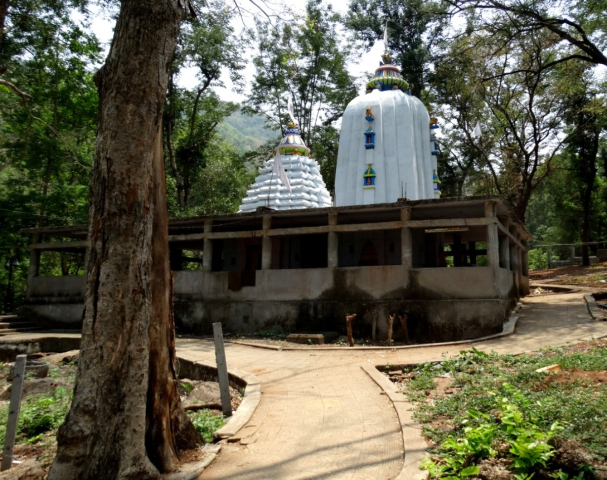 The Shiva temple, Taptapani