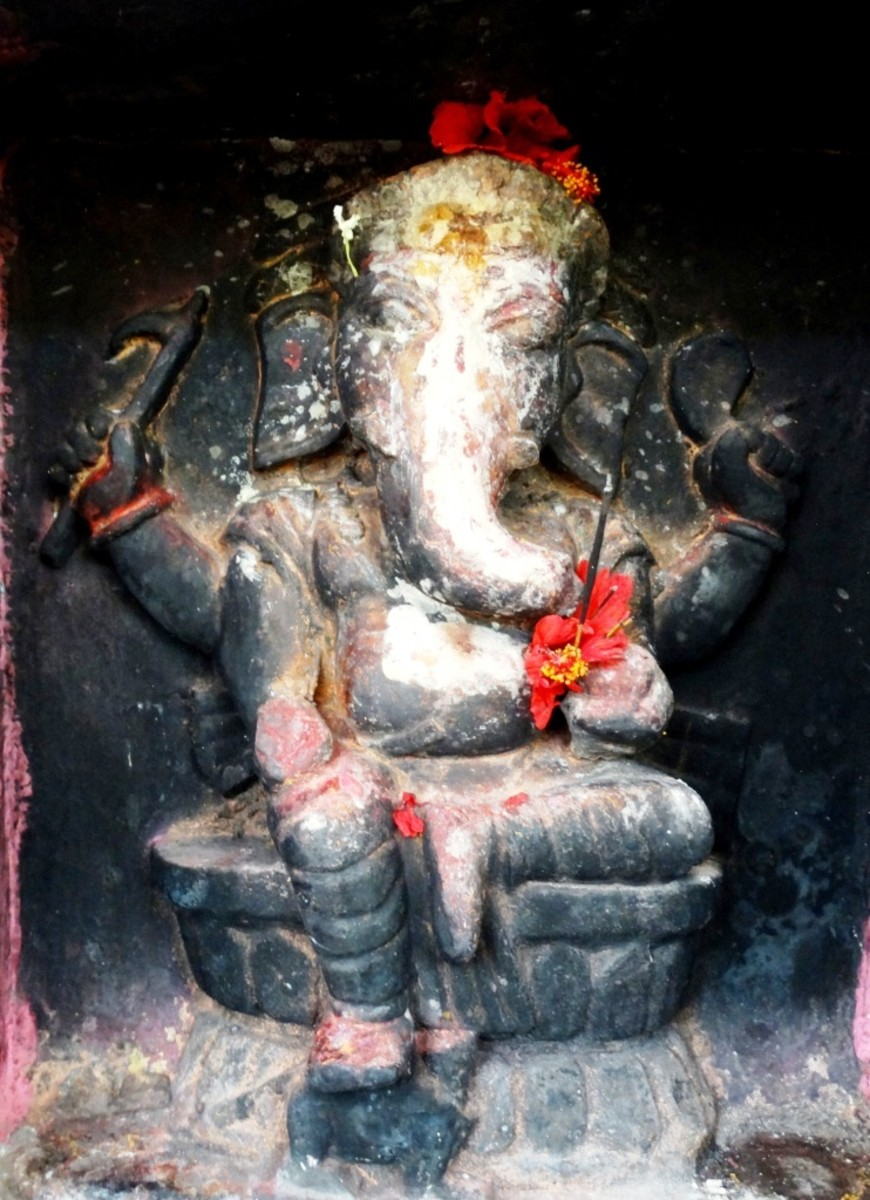 Ganesha in the Shiva temple  2