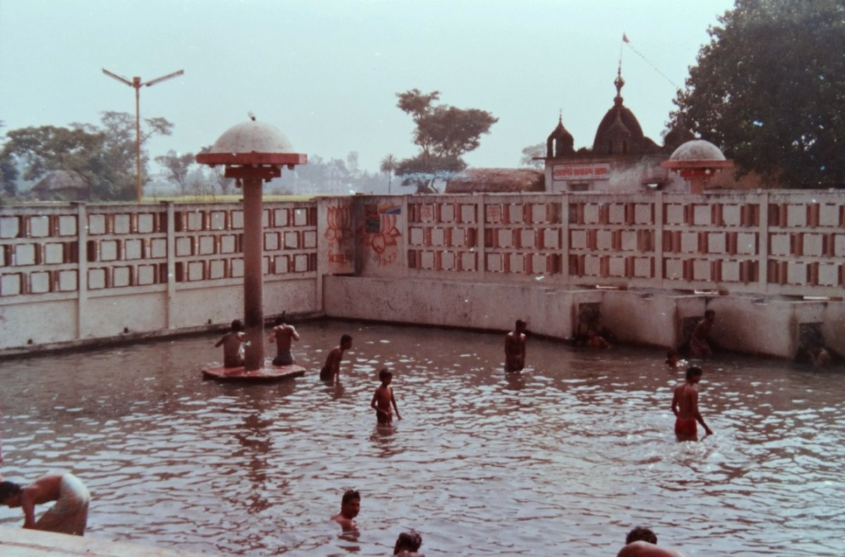 Hot spring at Bakreswar, West Bengal 1