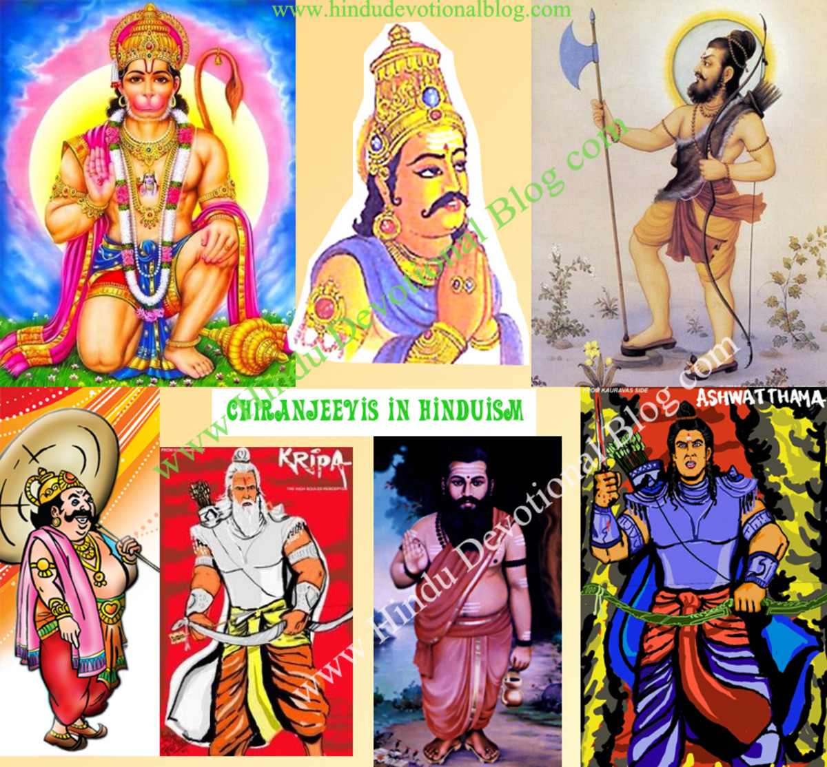 The Immortals of Hindu Mythology: Chiranjeevi