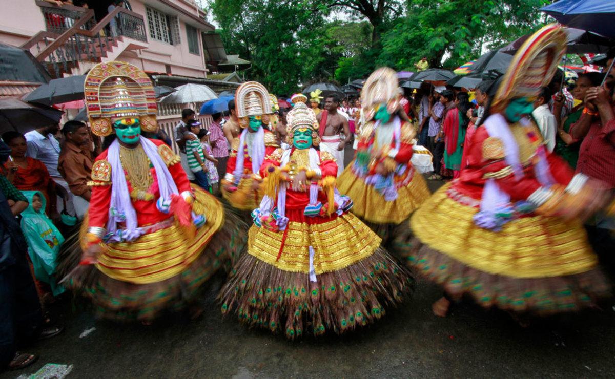 Onam marking arrival of King Bali