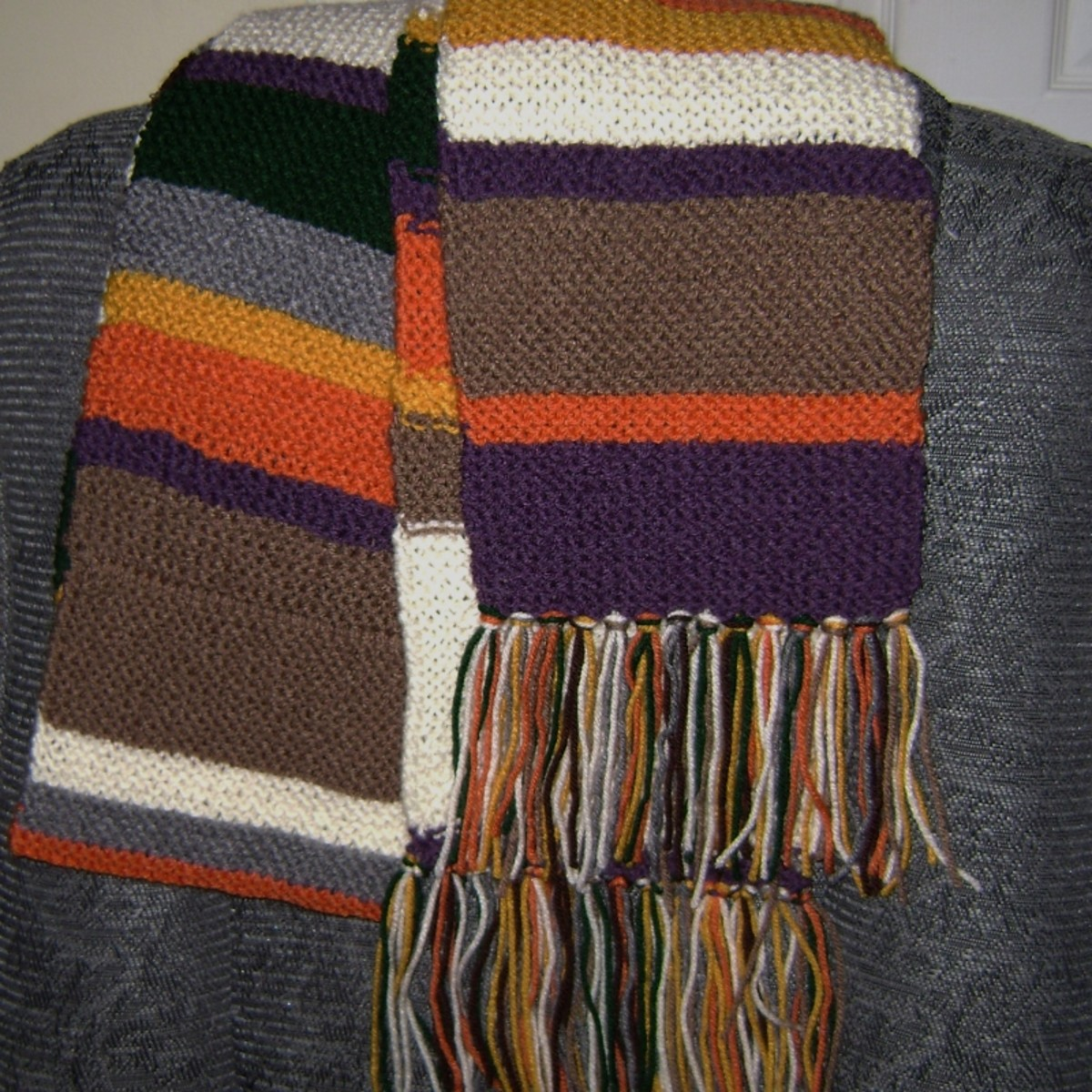 Full-Sized Season 12.5 Dr. Who Scarf