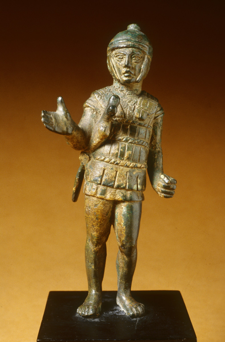 Etruscan warrior